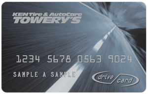 Ken Towery Drive Card